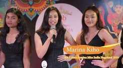 Marina Kiho's introduction at Miss India 2019 North East auditions
