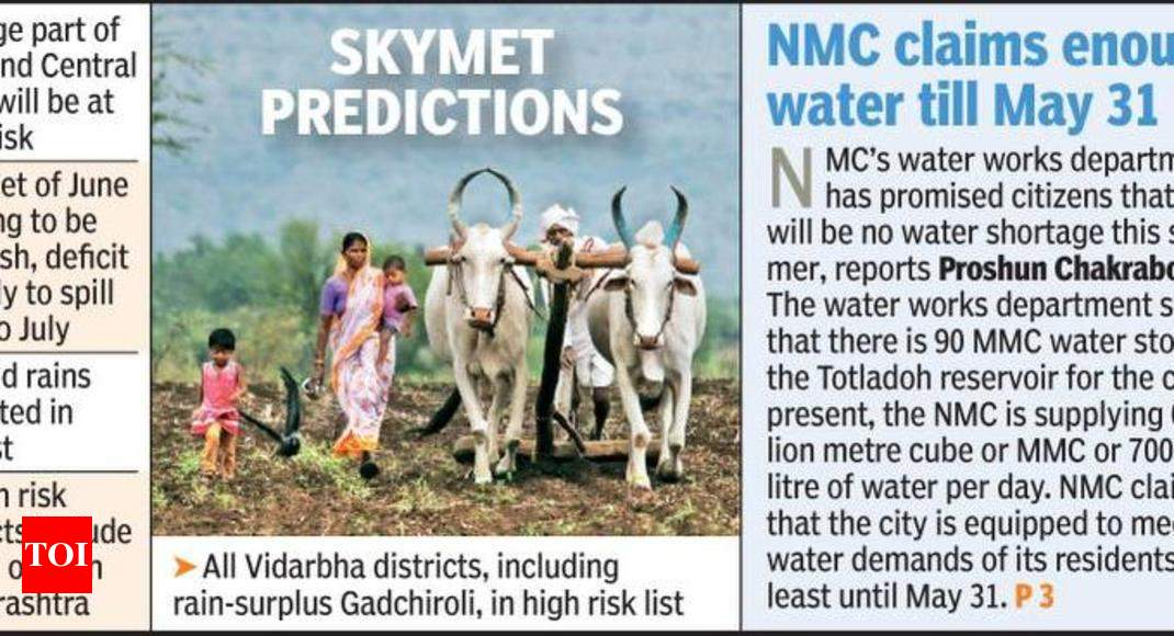 Skymet forecast suggests change in cropping pattern but Vidarbha