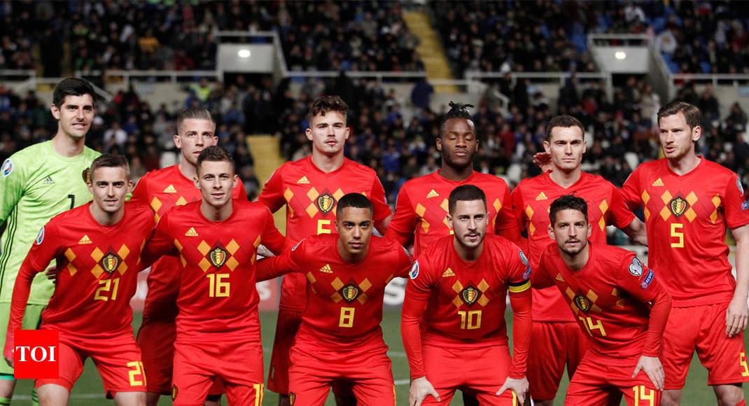 82c95e1f2394 Belgium top FIFA rankings