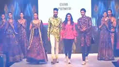 Showcasing collection of Charu Parashar and Anand Bhushan at DTFW