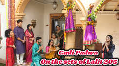 Gudi Padwa: On the sets of Lalit 205