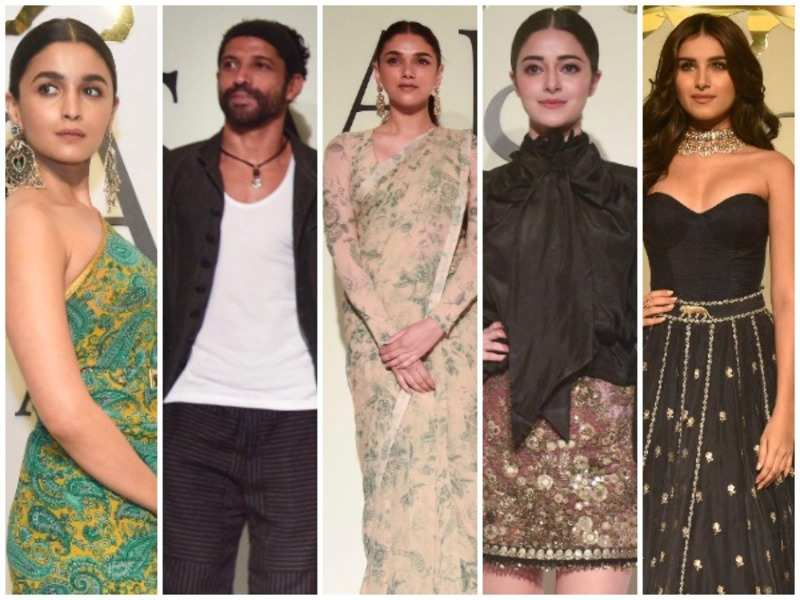Sabyasachi Mujkherjee Celebrates 20 Years In Fashion With A Special Show Events Movie News Times Of India