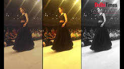 Sakshi Bindra showcases her collection at DTFW