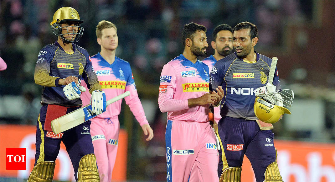 Clinical Kolkata Knight Riders give Rajasthan a royal pasting
