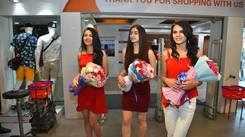 Miss India 2019 Jammu & Kashmir finalists at fbb store in Jammu city