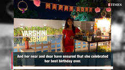TV host Varshini Sounderajan celebrates her best birthday