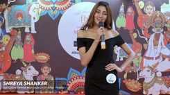 Shreya Shankar's introduction at Miss India Bihar 2019 auditions