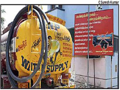 Flexboards warn of government-tanker mafia, but loot of