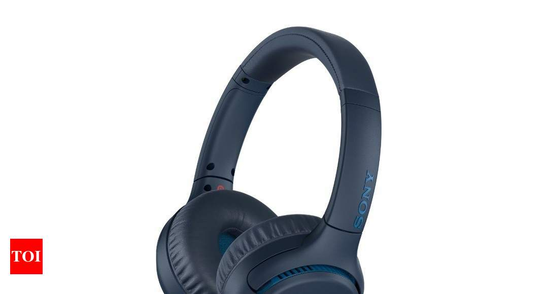 5e9f1e203e8 Sony Wireless Headphone: Sony launches WH-XB700 wireless headphone for Rs  8,990 in India - Times of India