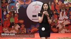 Megha Kaul's introduction at Miss India 2019 Jammu & Kashmir auditions