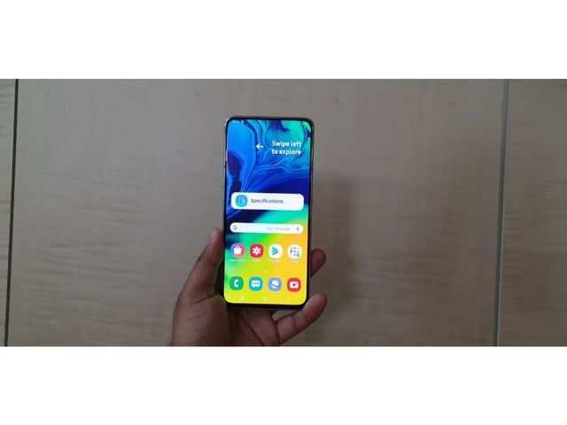 Samsung Galaxy A80: First impressions