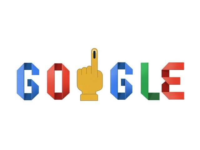 Google Doodle marks the beginning of 2019 Lok Sabha elections