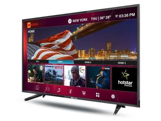 Super Plastronics launches Kodak XPRO smart LED TVs, price starts Rs 10,999