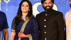 Sunny Wayne and Renjini sizzle at their star-studded wedding reception