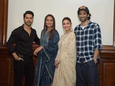 Varun leaves 'Kalank' co-stars mid-interview
