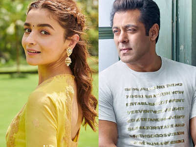 Alia on her 'unusual' casting with Salman
