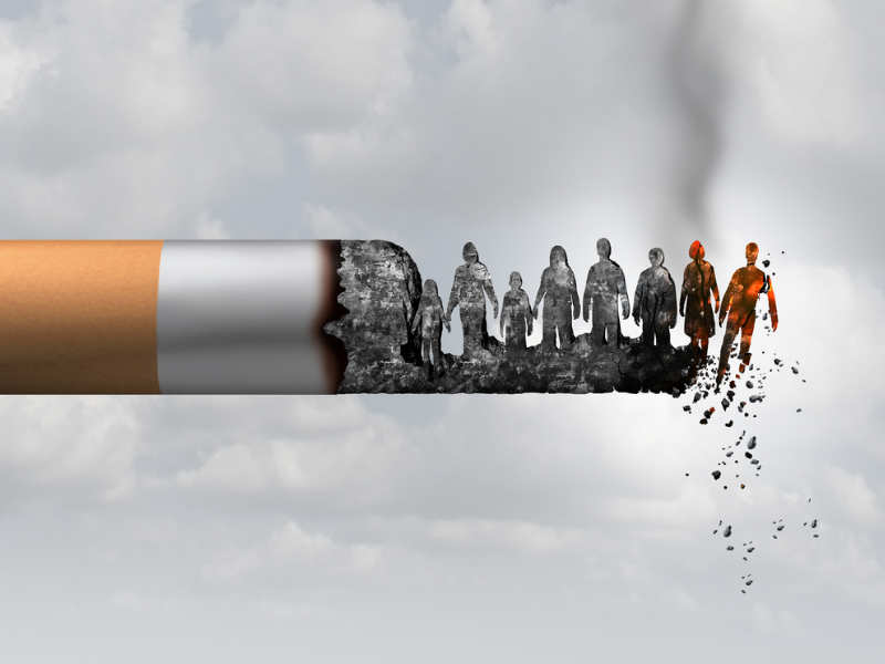 Partnering up key to quit smoking: Study - Times of India