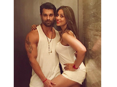 Bipasha shares a pic with Karan on Baisakhi