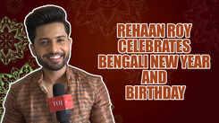 Guddan Tumse Na Ho Payega actor Rehaan Roy celebrates Bengali New Year