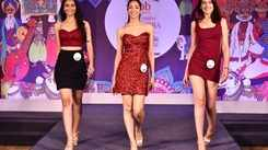 Miss India West 2019 finalists during day 2 at Hyatt Regency Pune