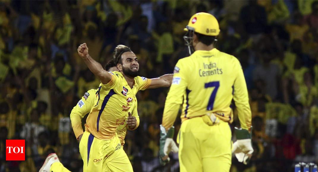 IPL 2019: I followed Dhoni's plan, says Imran Tahir