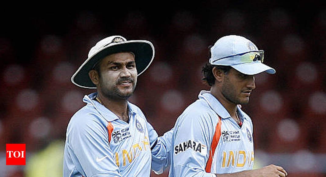Ganguly best captain, Dhoni and Kohli come next: Sehwag