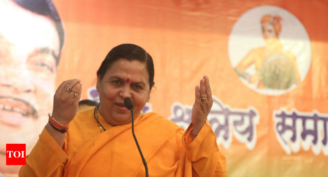 Hanuman, Shivaji & Che behind decision not to contest polls: Uma Bharti -