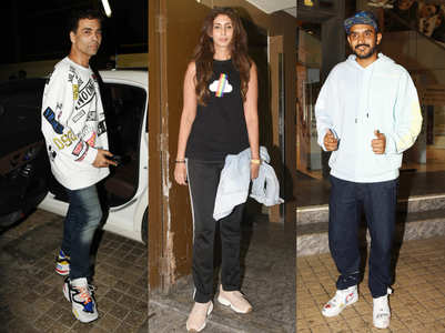 Pics: Celebs at special screening of 'Kalank'