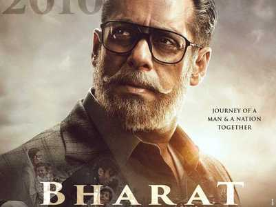 Salman Khan's first look from 'Bharat'