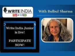 Participate in Write India Junior