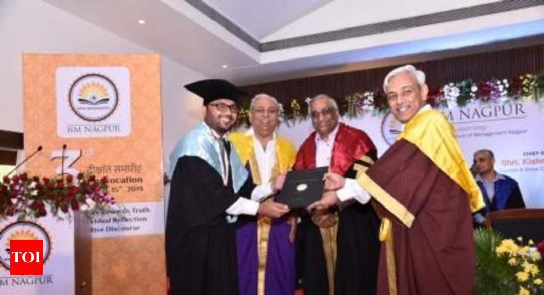 IIM Nagpur 3rd convocation: Indians coming back to work in India, says Kishore Biyani