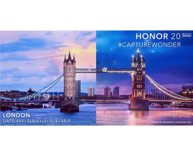 Honor 20 series to launch in London on May 21
