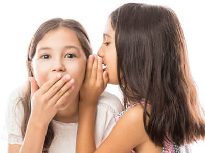 My 8-year-old gossips with her friends! How do I stop this?