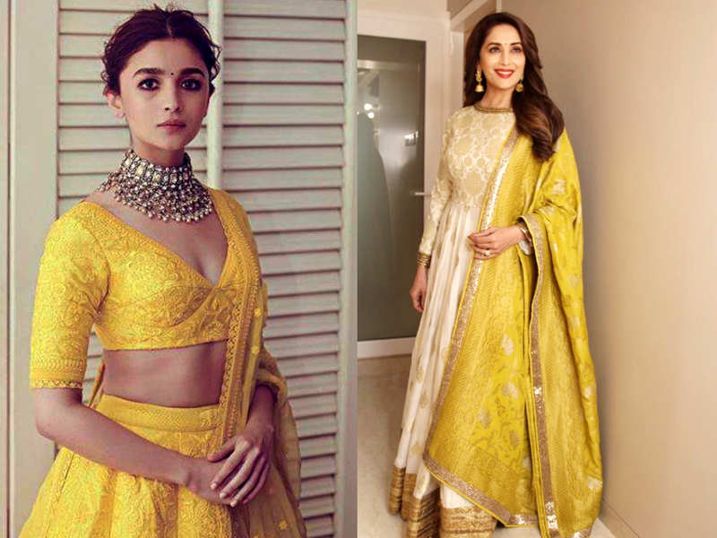 From Alia Bhatt To Sonakshi Sinha How Bollywood Stars Are Wearing Yellow This Summer Times Of India