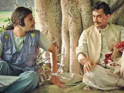 Throwback: Arjun with Aamir on sets of  'RDB'