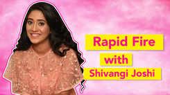 Shivangi Joshi takes the Rapid Fire Challenge |Yeh Rishta Kya Kehlata Hai| Exclusive|