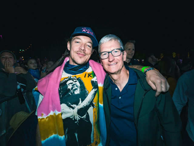 Here's where Apple CEO Tim Cook was partying this weekend