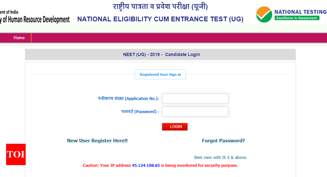 NTA NEET 2019 admit card released @ntaneet.nic.in; here's direct link