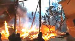 Major fire breaks out on the sets of TV show 'Paramavatar Shri Krishna'