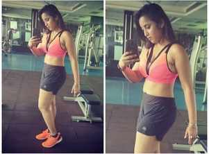 Rani Chatterjee shares her latest gym selfie
