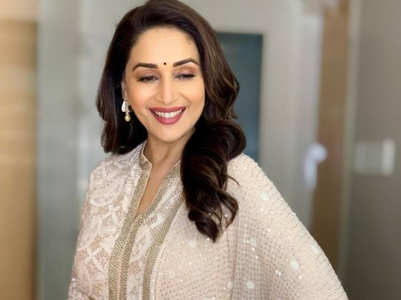 How to wear white like Madhuri Dixit