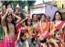 Gangaur festival celebrated amidst ghumar dance and Rajasthani folk dance