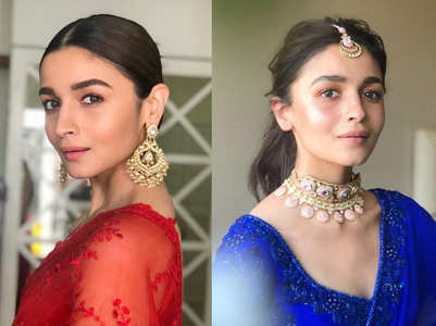 How to wear saris like Alia Bhatt