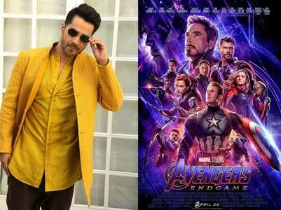 Who is Varun Dhawan's favourite Avenger?