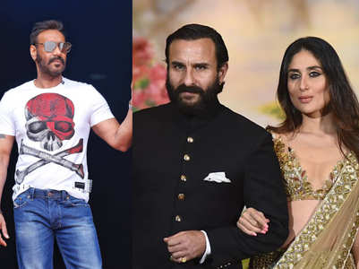 DDPD: How Saif reacted to Ajay's dialogue
