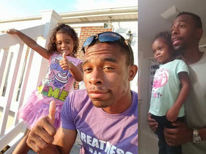 WATCH: This dad gives his daughter the best pep talk before school!