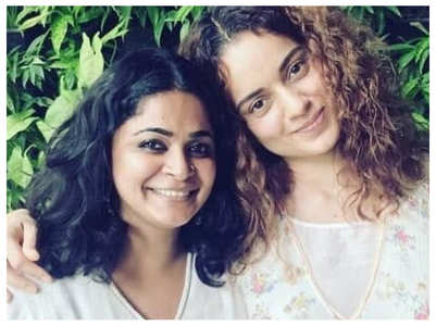 Kangana's sweet handwritten note for Ashwiny