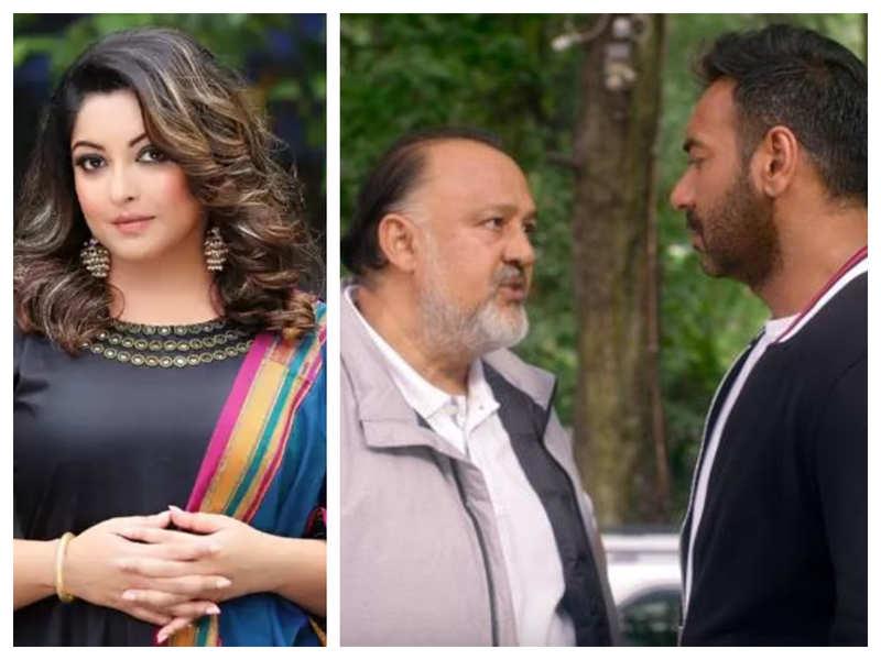 Tanushree Dutta slams Ajay Devgn for working with Alok Nath in 'De De Pyaar De'