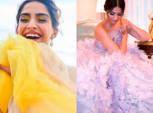 7 times Sonam Kapoor looked like a candy floss!