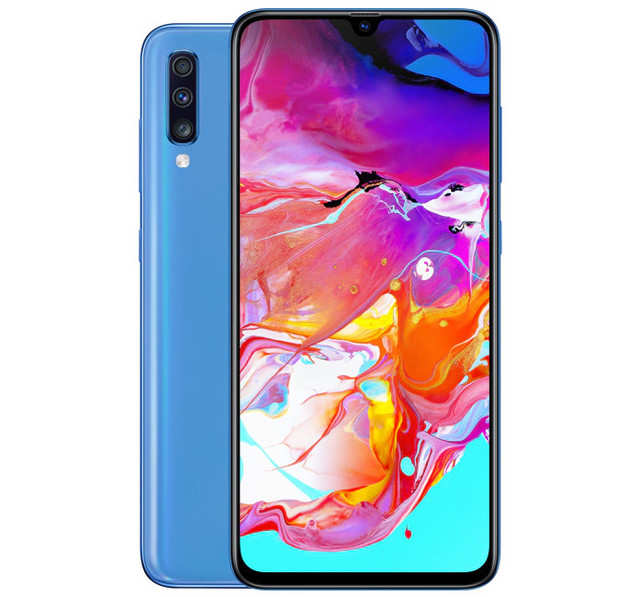 Samsung Galaxy A70 with 4,500 mAh battery, in-display fingerprint sensor launched at Rs 28,990